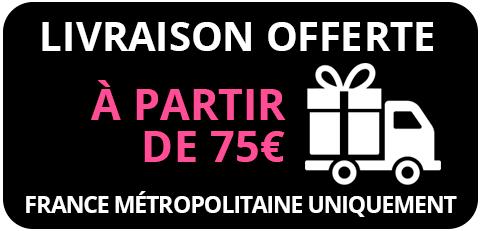 livraison gratuite à partir de 75€